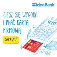 Idea Bank - Karta dla firm