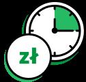 Ikona - szybka decyzja kredytowa - decyzja w 15 minut